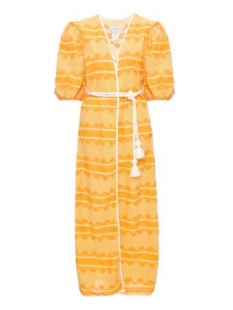 Kimono-Palmas-Amarelo