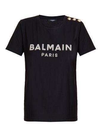 Camiseta-Embroidered-Preta