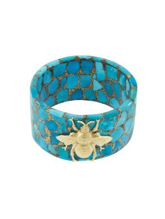 Pulseira-Abelha-Azul-de-Ouro