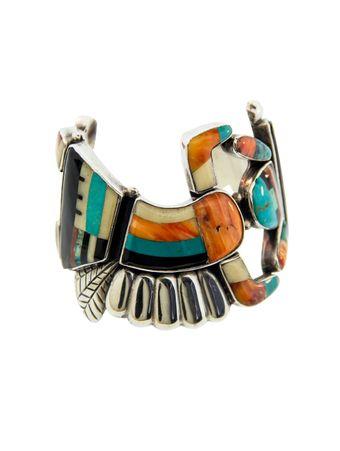 Bracelete-Mosaico-de-Pedras-Prateado