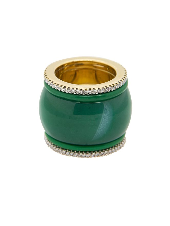 Anel-Esmeralda-e-Diamantes-de-Ouro-Amarelo