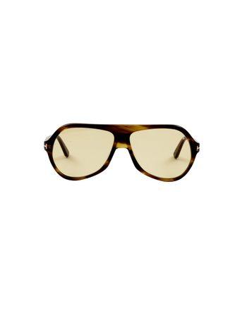 Oculos-de-Sol-Aviador-Amarelo
