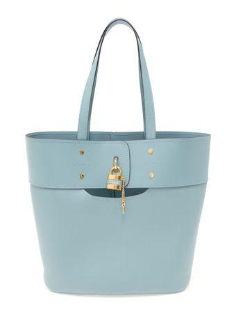 Bolsa-Medium-Aby-Tote-de-Couro-Azul