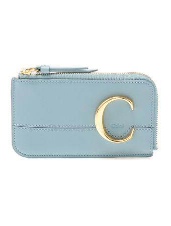 Porta-Cartao-Chloe-C-de-Couro-Azul
