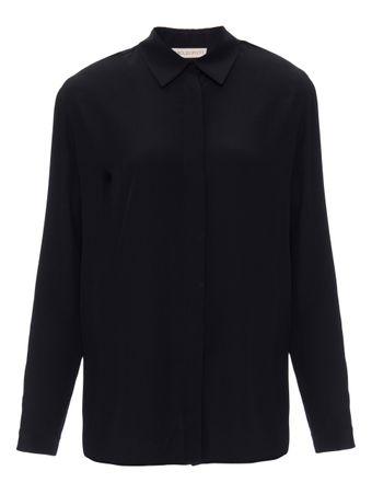 Camisa-de-Seda-Preta