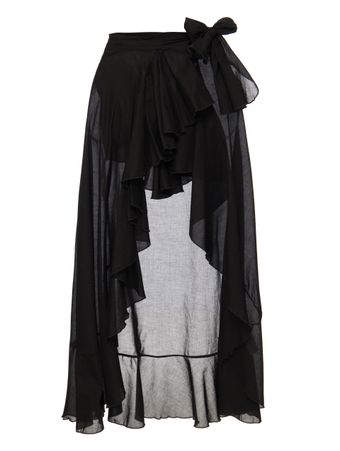FLAMENCO-WRAP-SKIRT--SAIA-BLACK