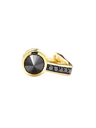 Brinco-Diamante-Negro-de-Ouro