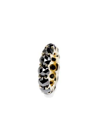 Anel-Diamante-Negro-de-Ouro