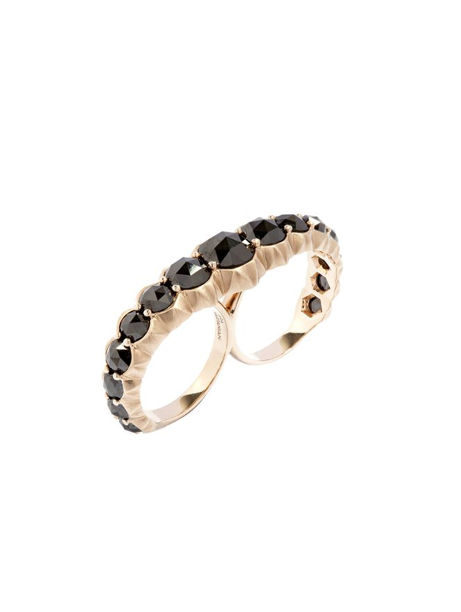 Anel-2-Dedos-Diamante-Negro-de-Ouro