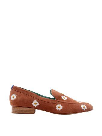 Loafer-Boyish-Daisy-de-Camurca-Marrom