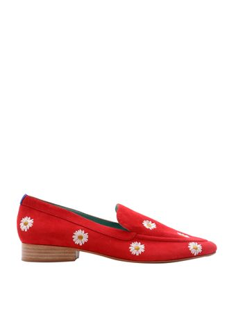 Loafer-Boyish-Daisy-de-Camurca-Vermelho