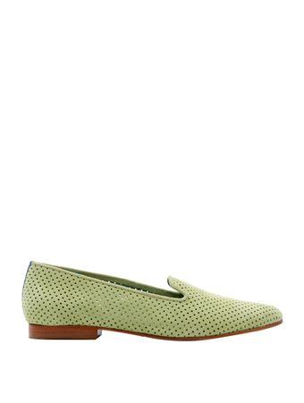 Loafer-Saudade-de-Camurca-Verde