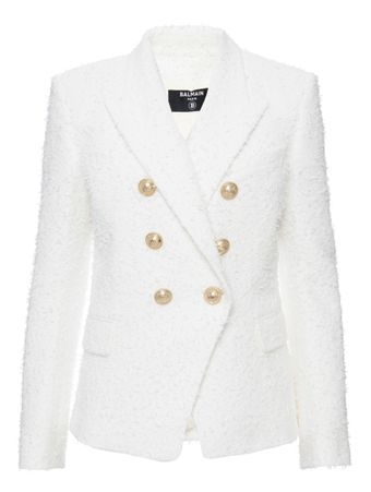 Blazer-Tweed-Branco