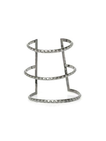 Bracelete-Triplo-Cinza