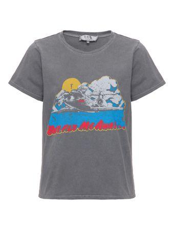Camiseta-Printed-Cinza