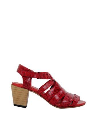 Sandalia-Kiki-Croco-Vermelha