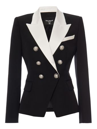 BLAZER-6-BTN-SATIN-LAPEL-GDP-JACKET-EAB-BLACKWHITE