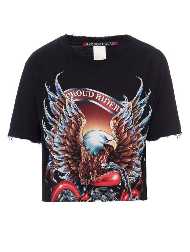 Camiseta-Eagle-Riders-Preta