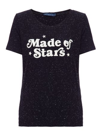 Camiseta-Made-Of-Stars-Preta