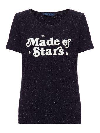 Camiseta-Made-Of-Stars-Preta