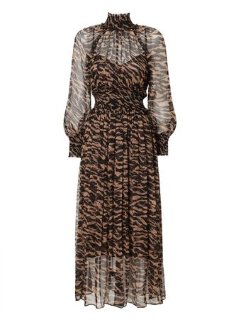 VESTIDO-WAVELENGTH-SHIRRED-MIDI-SUMATRAN-STRIPE