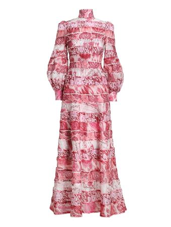 VESTIDO-WAVELENGTH-SPLICED-MAXI-SPLICED-PINK-IKAT