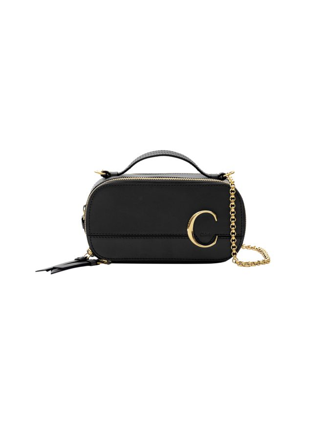 BOLSA-CHLOE-C-MINI-VANITY-BAG-IN-SHINY-C-BLACK