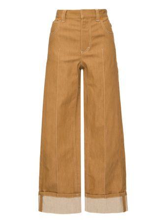 CALCA-TROUSERS-MUSK-BROWN