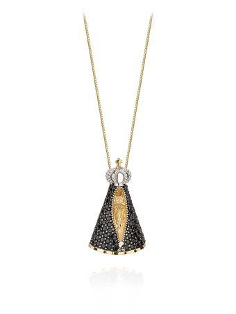 Gargantilha-em-ouro-amarelo-com-diamantes-e-safiras-negras