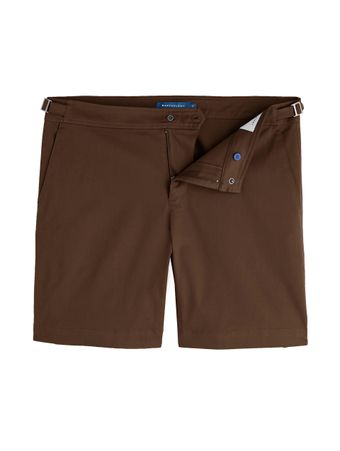 SHORTS-SARJA-BROWN