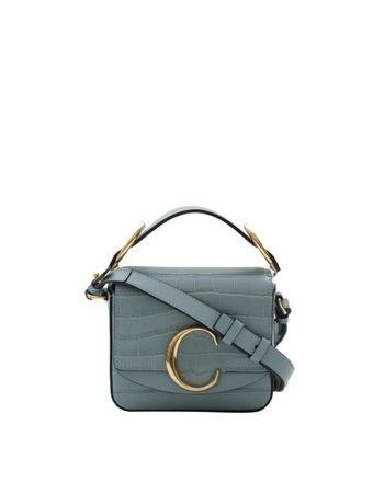 BOLSA-CHLOE-C-MINI-BOX-BAG-CROCO-FADED-BLUE