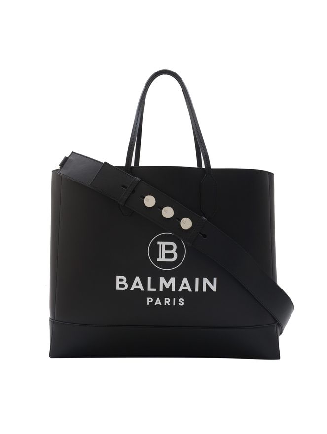 BOLSA-BALMAIN-SHOPPING-BAG-MCALFSKIN-0PA-BLACK