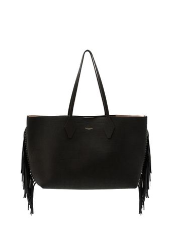 BOLSA-SHOPPER-37LEATHER-EMBOSSED-CROCF-0PA-BLACK