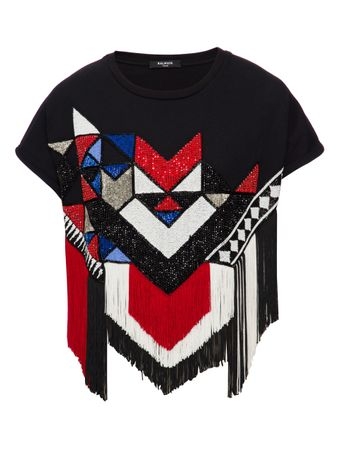 CAMISETA-CROPPED-SS-FRINGED-EMBROIDERED-BLACKMULTICO