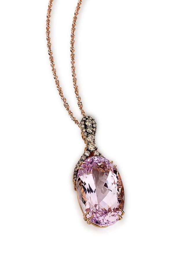 Gargantilha-em-ouro-rose-com-diamantes-e-kunzita