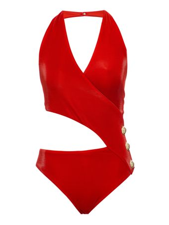 MAIO-BUTTONS-LUXURY-JERSEY-SWIMSUIT-RED