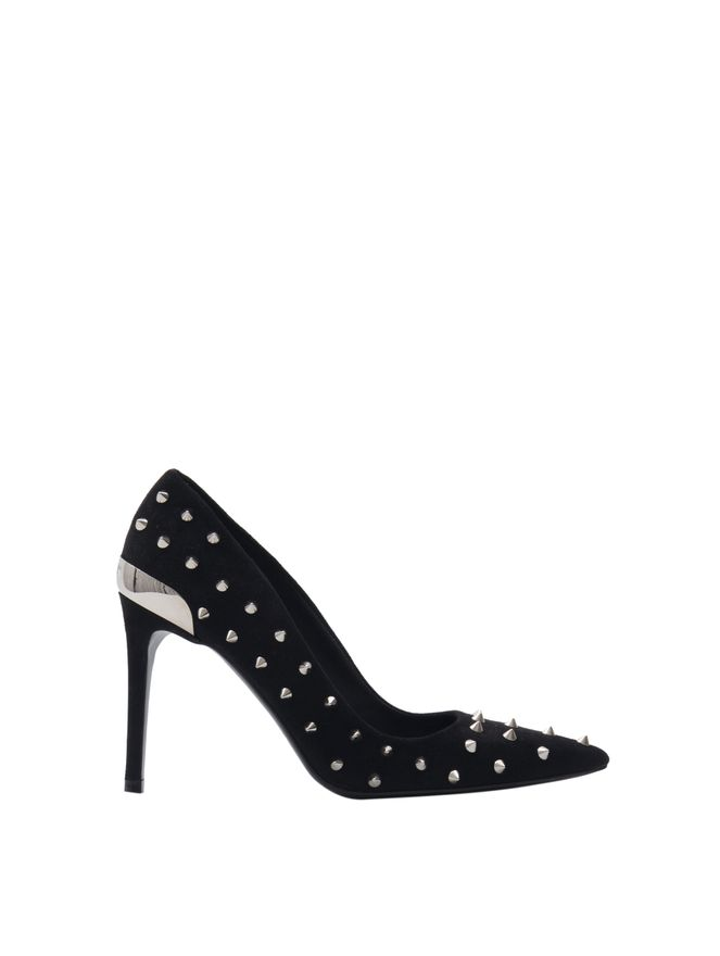 PUMP-ORYSSUEDE-LEATHER--SPIKES-0PA-BLACK