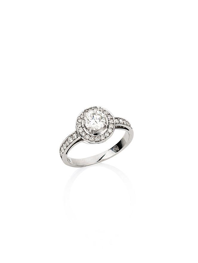 Anel-Diamante-Redondo-de-Ouro-Branco-