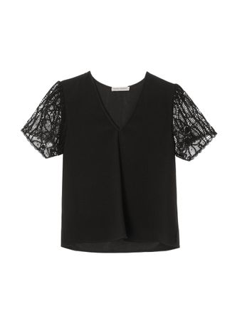 CAMISETA-BASIC-DECOTE-V-CREPE-RENASCENCA-PRETO-BLACK