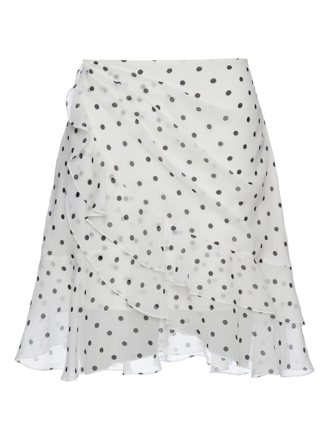 SAIA-SHORT-RUFFLED-POLKADOT-SKIRT-GAB-WHITEBLACK
