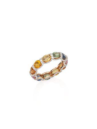 Anel-Safiras-Coloridas-de-Ouro