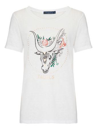 Camiseta-Touro-Branca