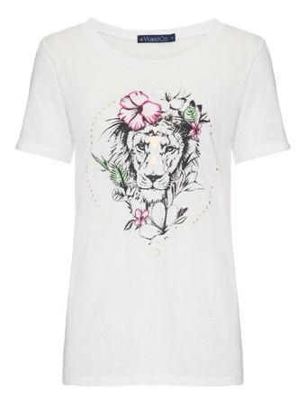 Camiseta-Leao-Branca