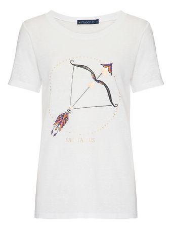 Camiseta-Sagitario-Branca