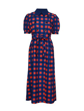 VESTIDO-GINGHAM-PRINTED-DRESS-BLUE-ORANGE