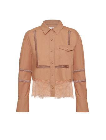 CAMISA-BEIGE-COTTON-POPLIN-LACE-TRIM-SHI-LIGHT-BEIGE