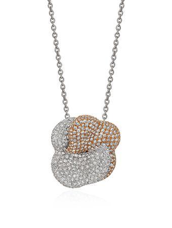 Gargantilha-Diamantes-de-Ouro-Branco