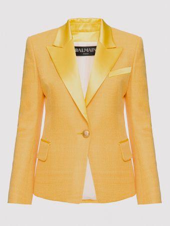 Blazer-Lapela-Cetim-Amarelo