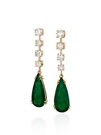 Brinco-de-Esmeralda-e-Diamantes-de-Ouro