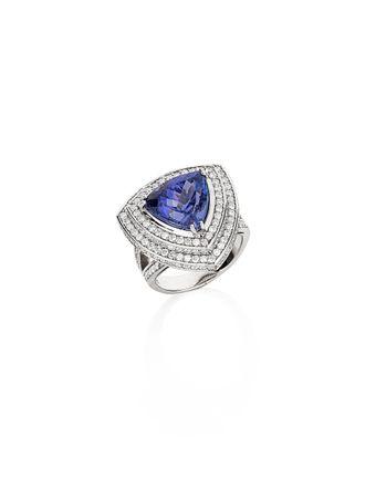 Anel-Triangulo-Tanzanitas-e-Diamantes-de-Ouro-Branco